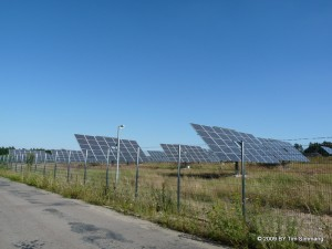 Solarfeld bei Treuenbrietzen